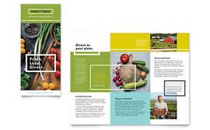 Agriculture Brochure Templates by Agriculture Farming Marketing Brochures Flyers