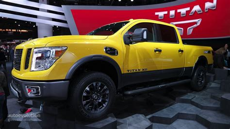 Nissan Diesel Trucks by 2016 Nissan Titan Xd Cummins Light Duty Truck Has Heavy