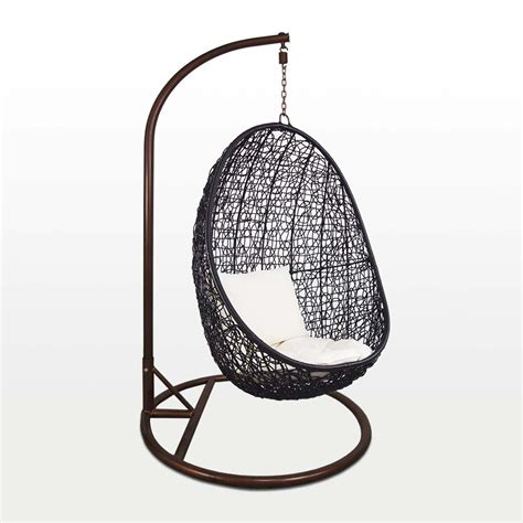 cocoon swing chair black cocoon swing chair white cushion furniture home