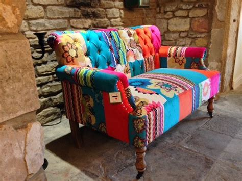 Patchwork Corner - patchwork corner sofa for sale velvet retro sofas