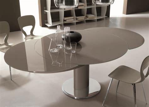 Black Lacquer Kitchen Cabinets bontempi giro round extending dining table bontempi at