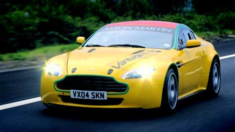 aston martin dbr9 top gear top gear in search of driving heaven aston martin