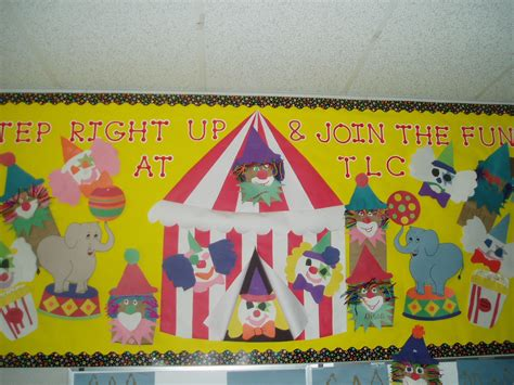 carnival themes for preschool circus theme bulletin board bulletin boards and door
