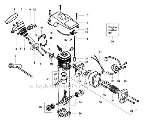 poulan chainsaw fuel line routing diagram poulan 2025 parts list and diagram ereplacementparts