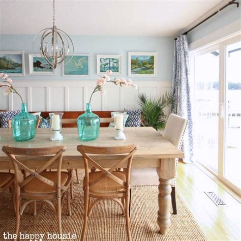 Diy Dining Room Painting Thrift Store Vintage Painting Gallery Wall In The Dining
