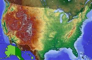 elevation map eastern us mod 232 le carte 201 tats unis wikip 233 dia