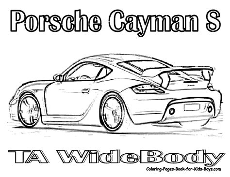 porsche coloring pages printable coloring pages