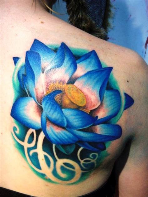 blue lotus flower tattoo the 25 best blue lotus ideas on lotus