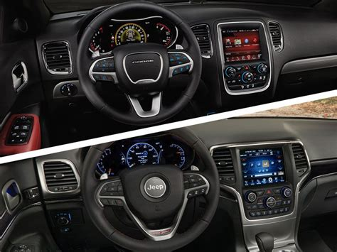 jeep durango interior dodge durango vs jeep grand 2017 best cars