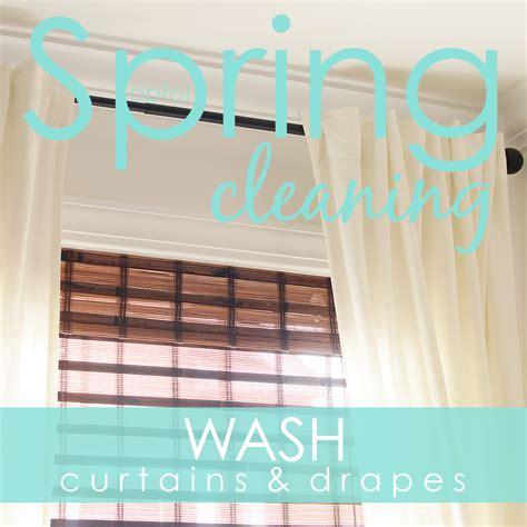 clean drapes spring clean in 30 challenge week 4 a bowl full of lemons