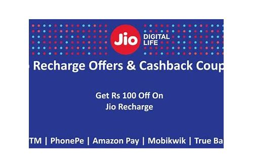 paytm coupons for recharge jio
