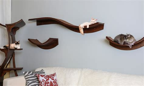 Build An A Frame by The Refined Feline Lotus Cat Shelves