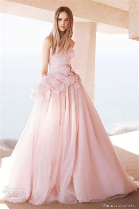 1707026 Pink Gaun Pengantin Wedding Gown Dress help blush dress what color of veil to use weddingbee