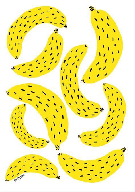 bananas print babasouk banana art