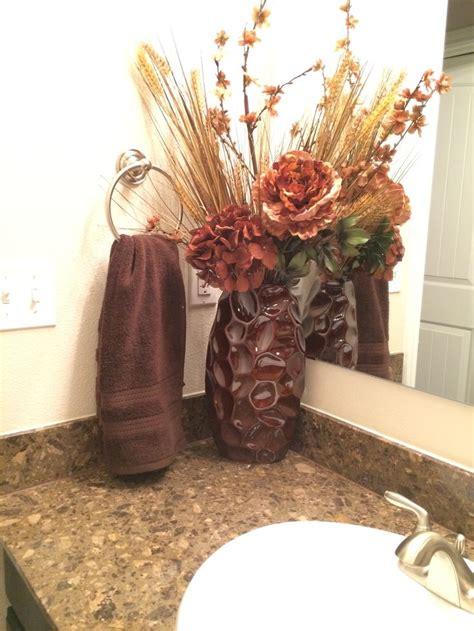 flower arrangements for bathrooms brown bathroom floral arrangement arrangments