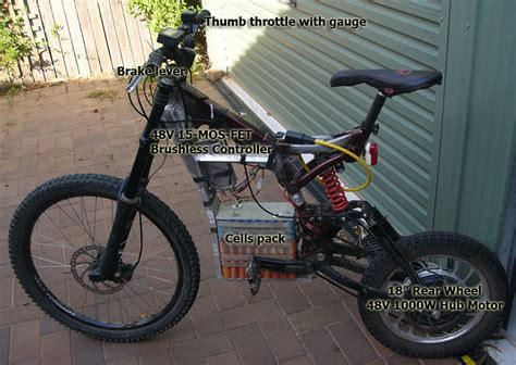 are bikes with motors 18inch electric bike