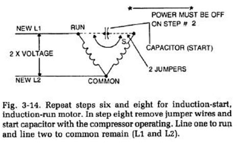 common start run diagram refrigerator compressor locked rotor test refrigerator