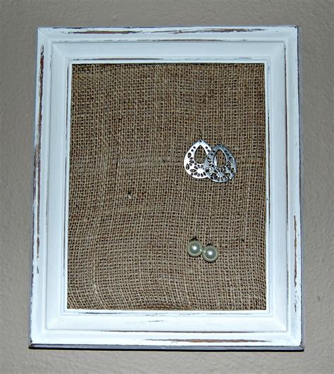 items similar to picture frame earring holder on etsy