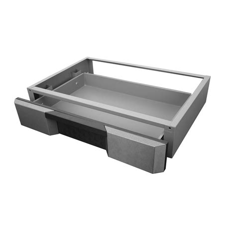 To Drawer Shop Kobalt 29 5 In X 5 75 In Gray Metal Drawer At Lowes