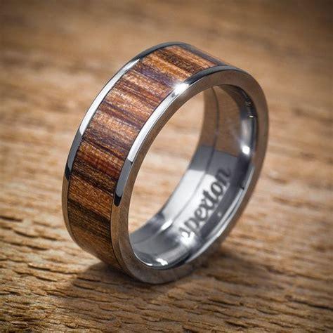 Best 25  Wood wedding bands ideas on Pinterest   Wood