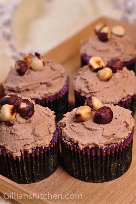 Cupcake Hazelnut chocolate hazelnut cupcakes