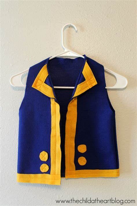 pattern for jake and the neverland pirates costume jake the neverland pirates costume tutorial child at