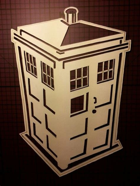 tardis stencil crafty pinterest