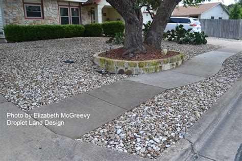 front yards with rocks gravel in the garden bad the central