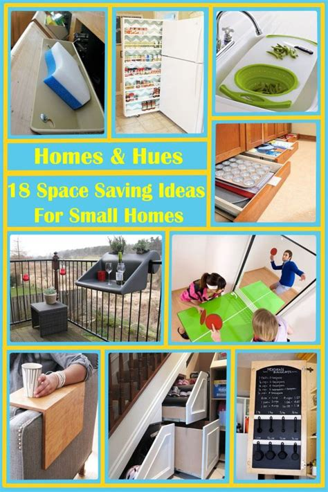 space ideas 18 space saving ideas perfect for any small home homes and hues