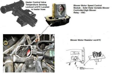 95 ford explorer blower motor resistor location   get free