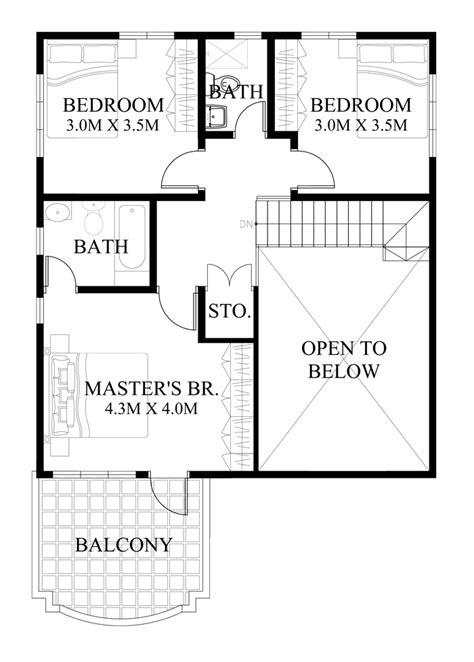 second floor plans modern house design series mhd 2014013 eplans
