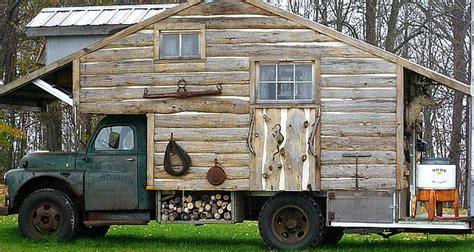log cabin trailer cottage truck cer or mobile log cabin
