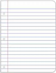 A Blank Piece Of Paper To Write On Thursday Tip How To Write On Lined Paper