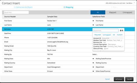 csv format salesforce importing data into salesforce dataloader io