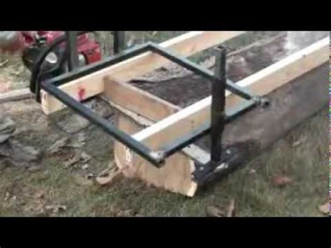 Melly Topic Free Homemade Chainsaw Sawmill Plans