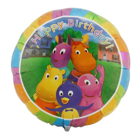 Backyardigans Birthday Backyardigans Happy Birthday Foil Balloon