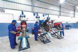 Suzuki Service Centre Suzuki Two Wheeler Opens One Of The Largest Service