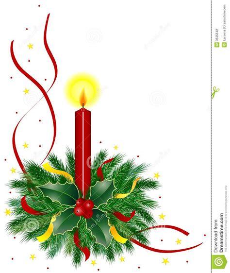 immagini di candele di natale candela di natale fotografia stock immagine 3535542