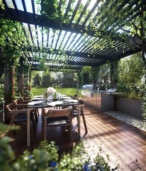 Outdoor dining Corona Renderer Corona Pinterest
