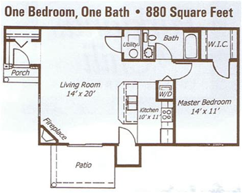one bedroom apartment square footage parklands rochester ny apartment floor plans