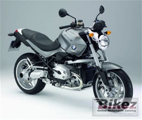 2007 bmw r1200r specifications and pictures