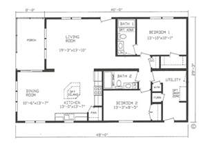 Small Mobile Homes Floor Plans The Pike Bay St Cloud Mankato Litchfield Mn Lifestyle