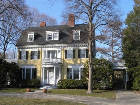 revival house colonial revival architecture features colonial revival