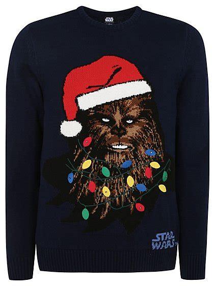 Star Wars Chewbacca Light Up Christmas Jumper Men George Jumper That Lights Up