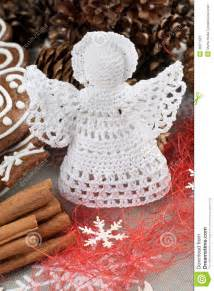 Decorate Christmas Cookies Crochet Christmas Angel Stock Image Image 36371921