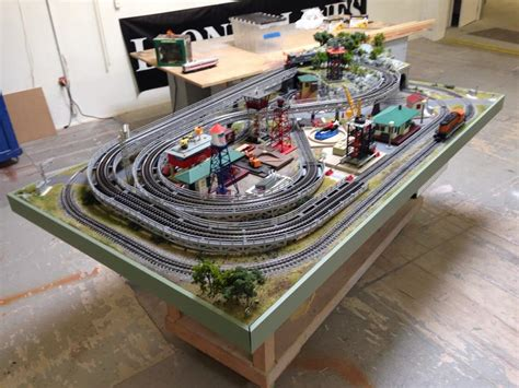 video display layout lionel dealer display layouts factory layouts and postwar