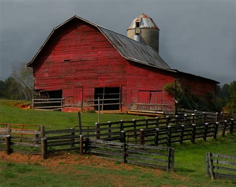 red barn quot waynesville red barn quot by gary pope redbubble
