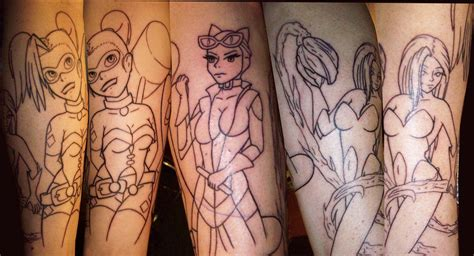 batman tattoo for a girl batman girls tattoo by tattedrebel12bill on deviantart