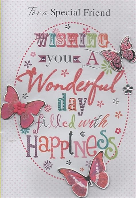 Special Handmade Birthday Cards - open birthday cards for a special friend handmade card