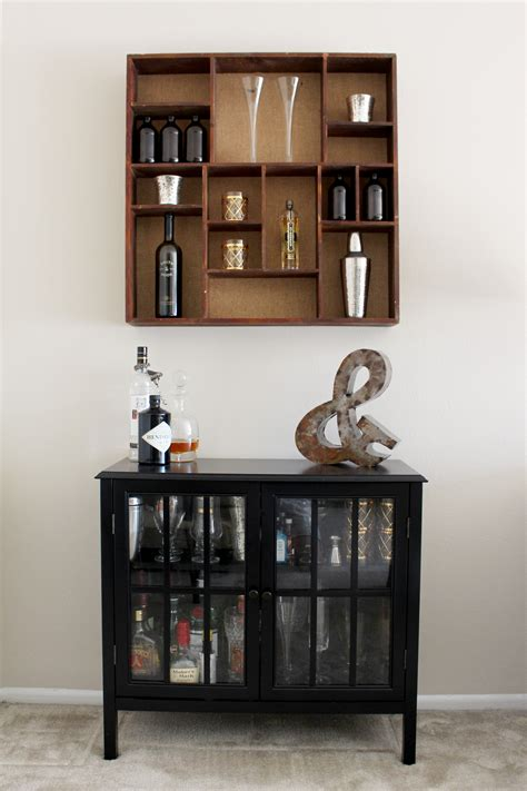 living room bar cabinet living room redo brick vine